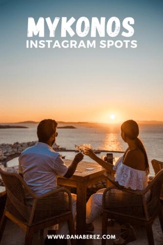 mykonos instagram spots