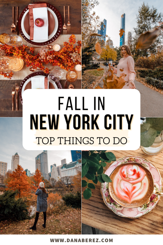 Fall in NYC