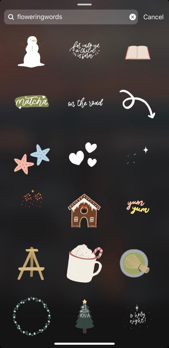 cute Instagram Stickers 5