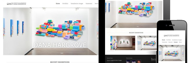Announcing a new portfolio website for Dana Hargrove