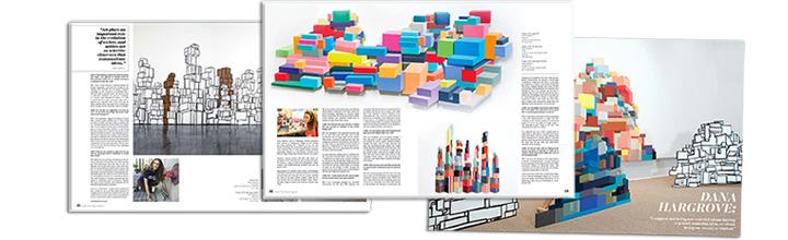 ArtMaze Magazine interview- in print