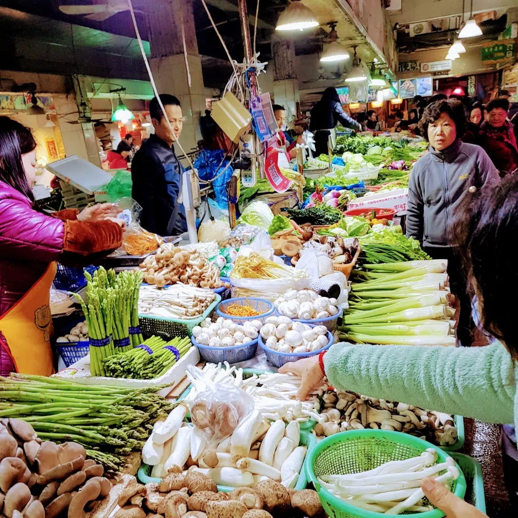 Wet Market in China