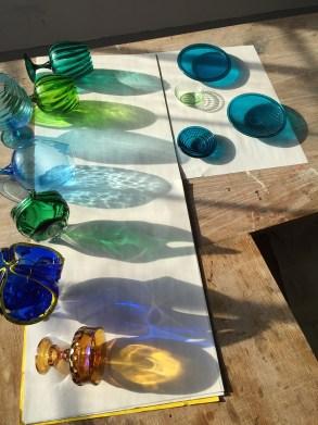 dana major, chicago artist, light art, led art, crystal seeing