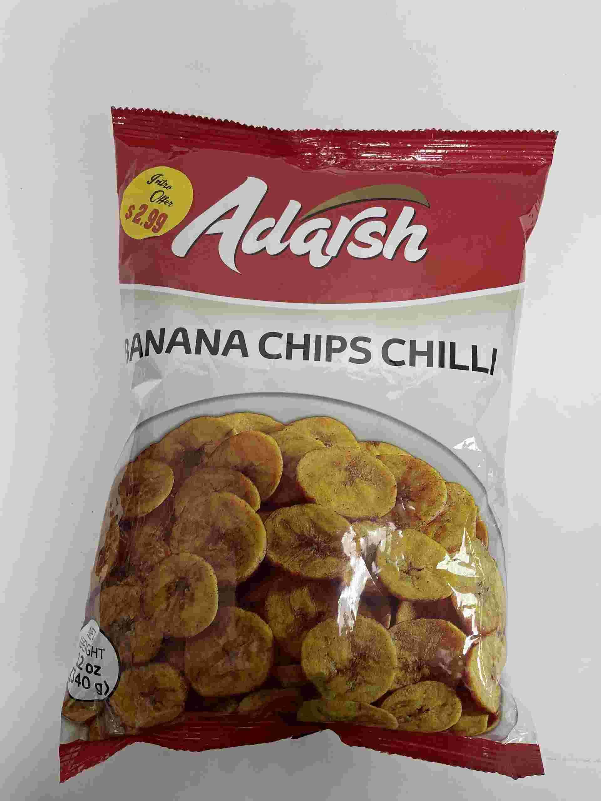 Adarsh Banana Chips Chilli
