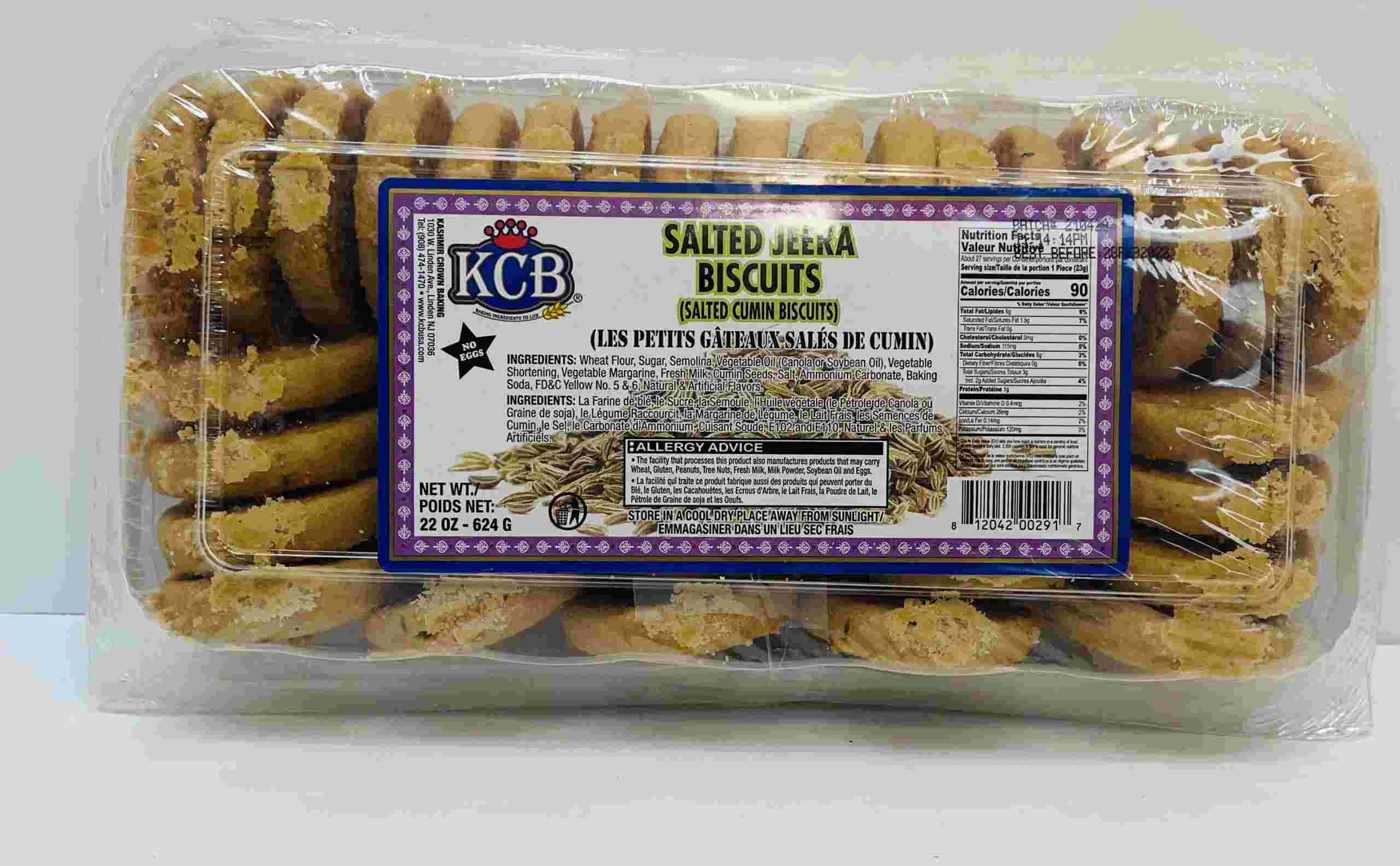 Kcb Salted Jeera Biscuits