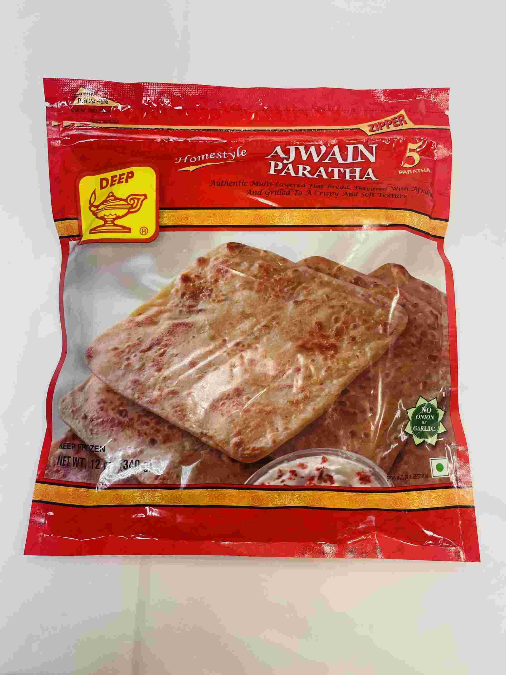 Deep  Ajwain Paratha 5 Pieces