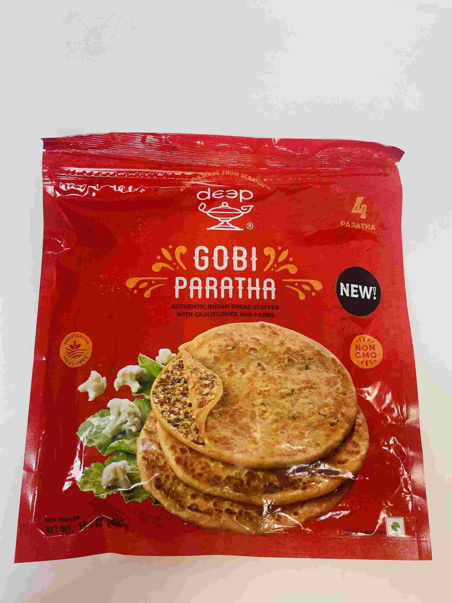 Deep  Gobi Paratha 4 Pieces