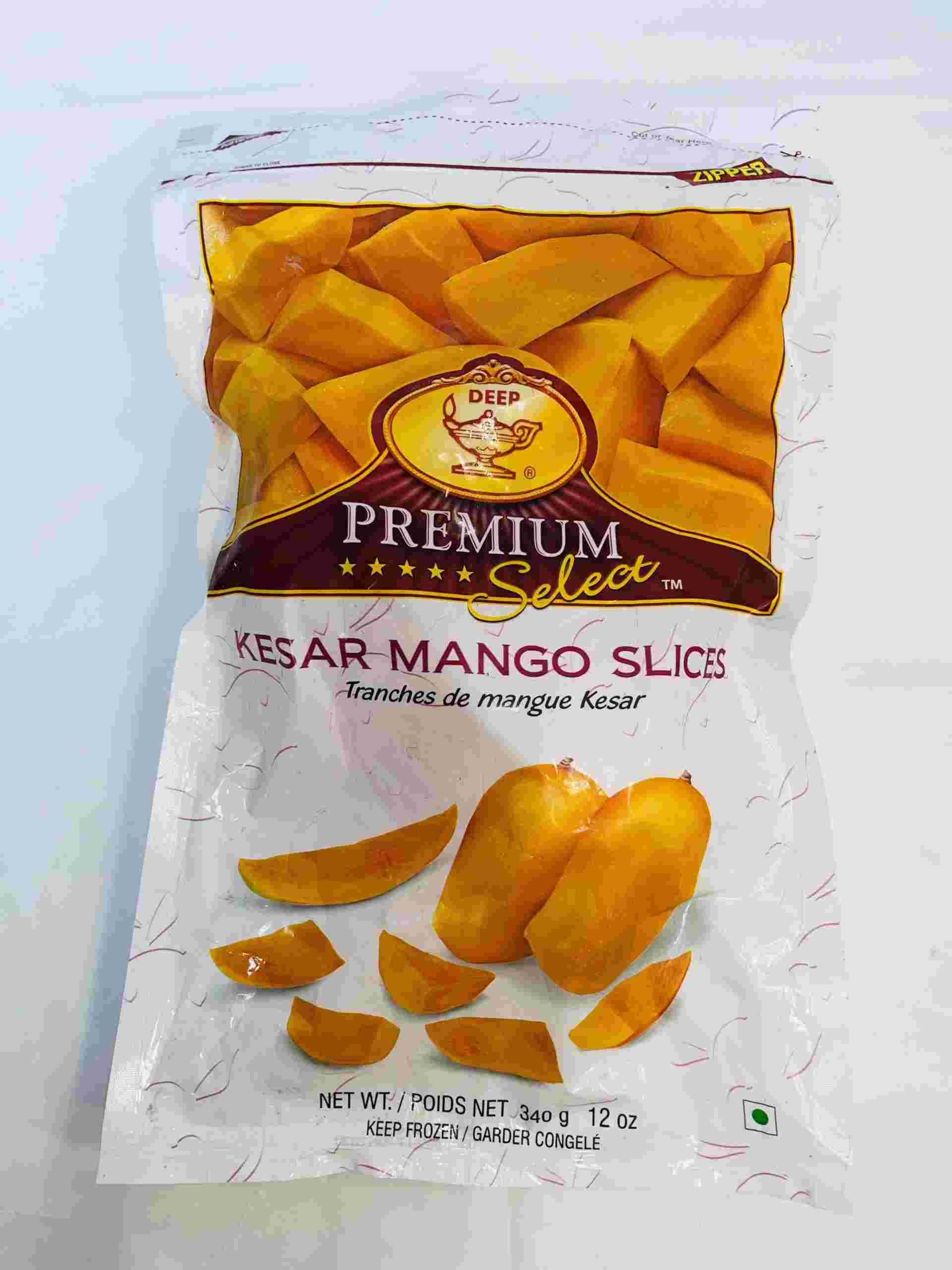 Deep  Kesar Mango (Slices)