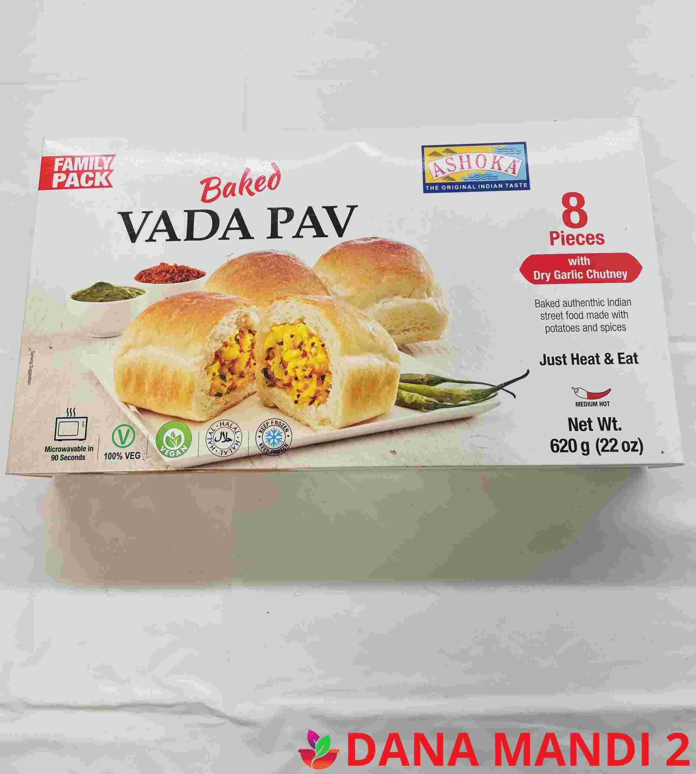 Ashoka Vada Pav Backed 8 Pieces