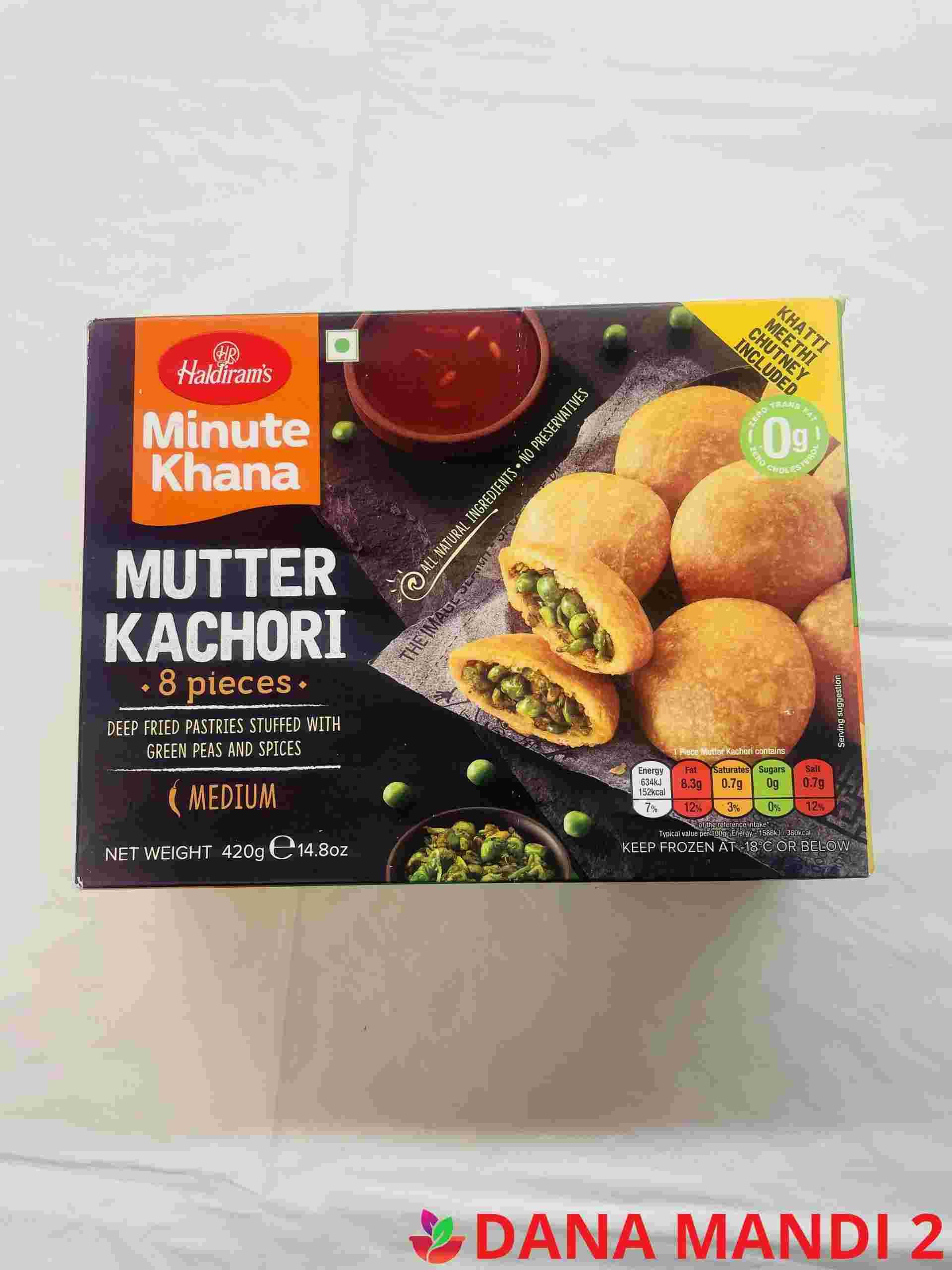 Haldiram's Mutter Kachori 8 Pieces
