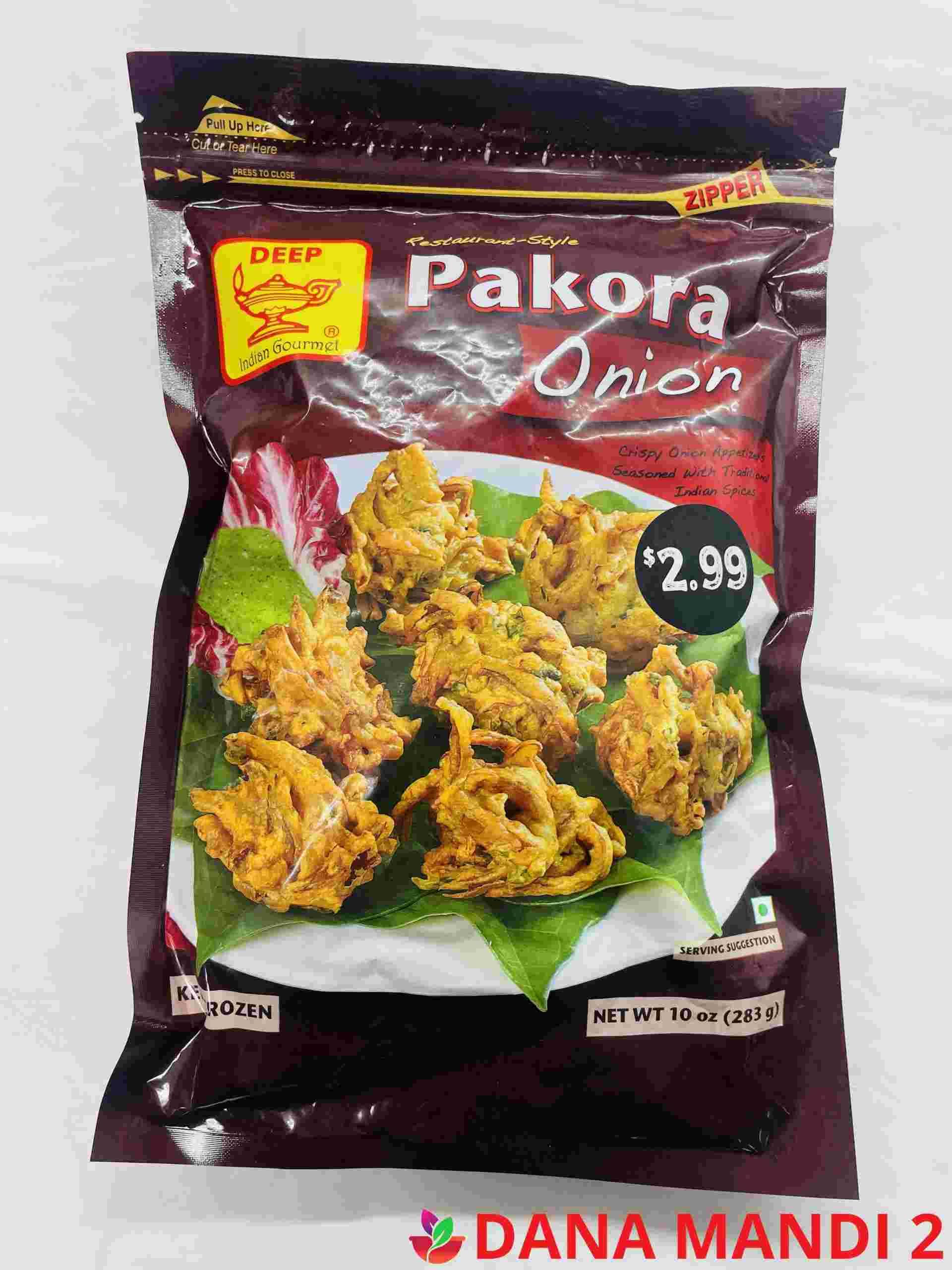 Deep  Onion Pakora