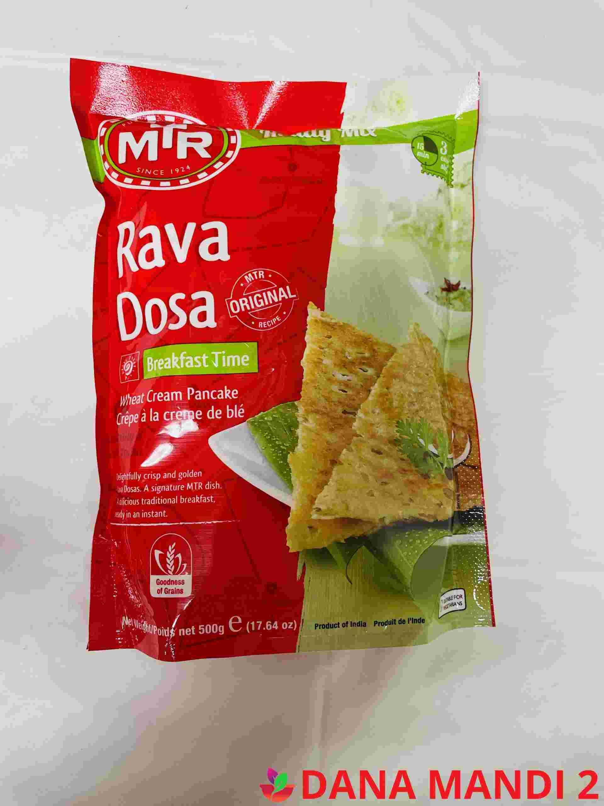 MTR Rava Dosa Breakfast