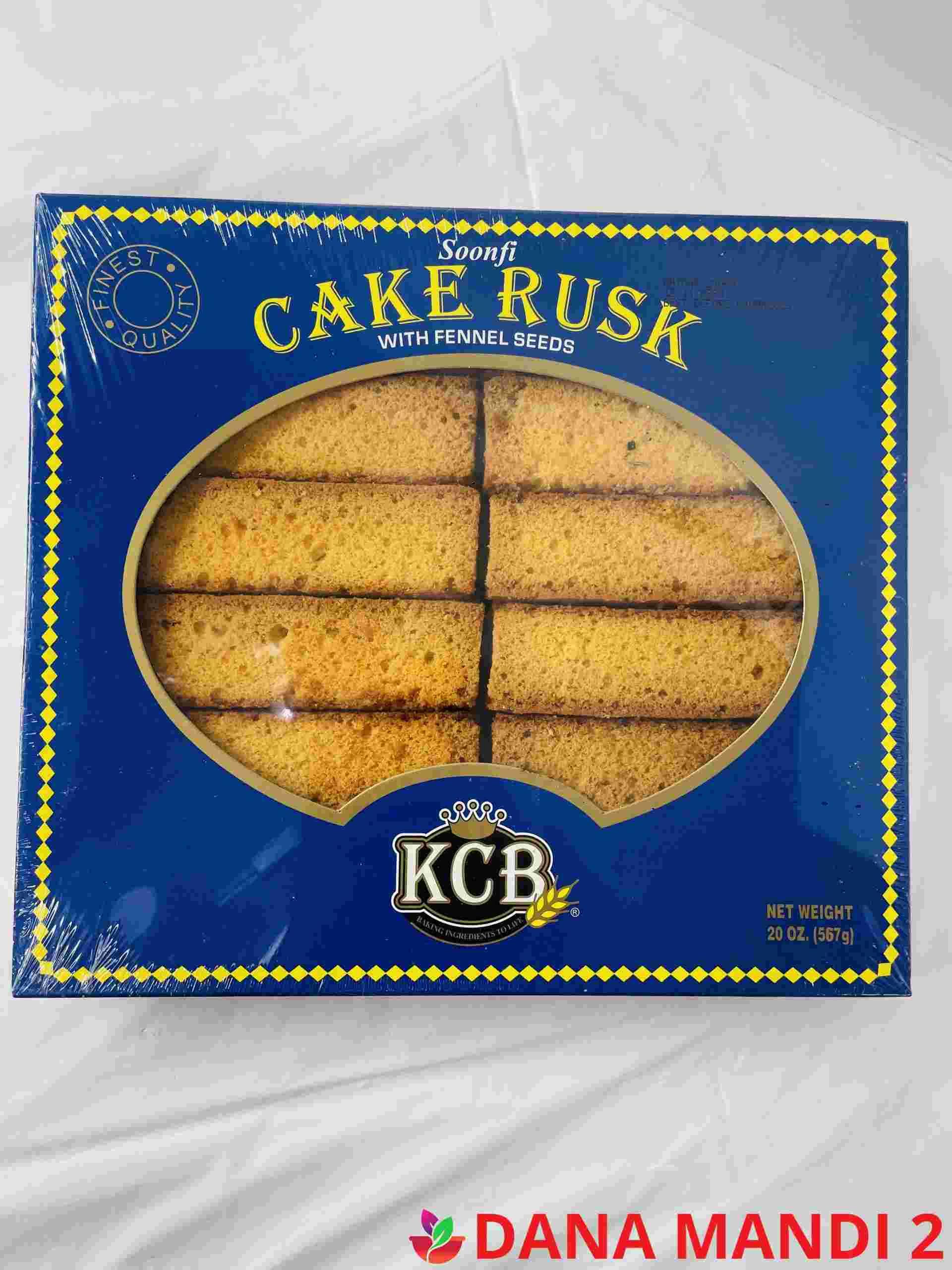 KCB Cake Rusk Soonfi  (Blue Box)