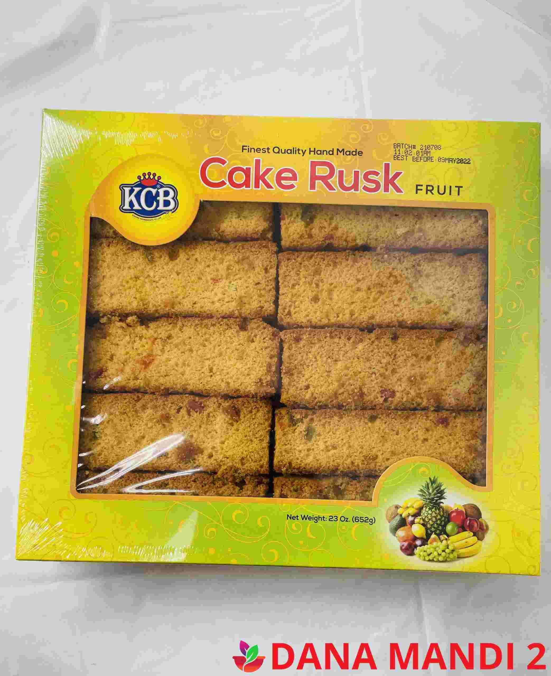 KCB Cake Rusk Fruit