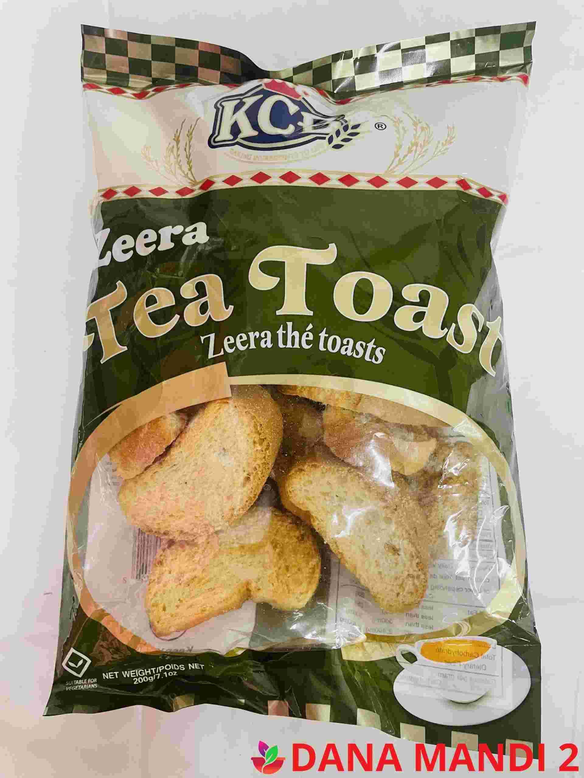 Kcb Zeera ( Round Tea Rusk )