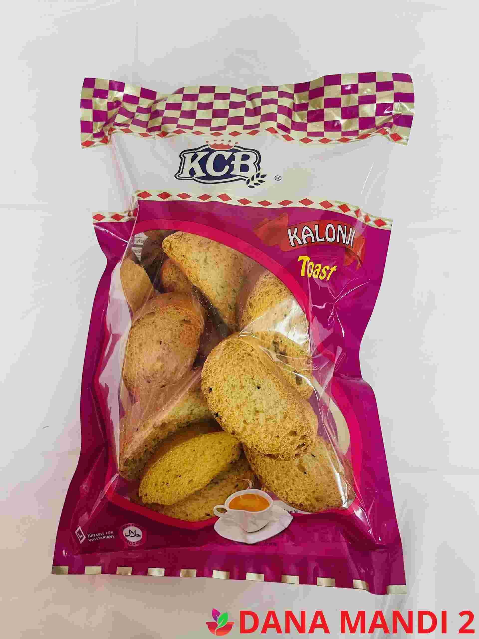 Kcb Kalonji ( Round Tea Rusk )