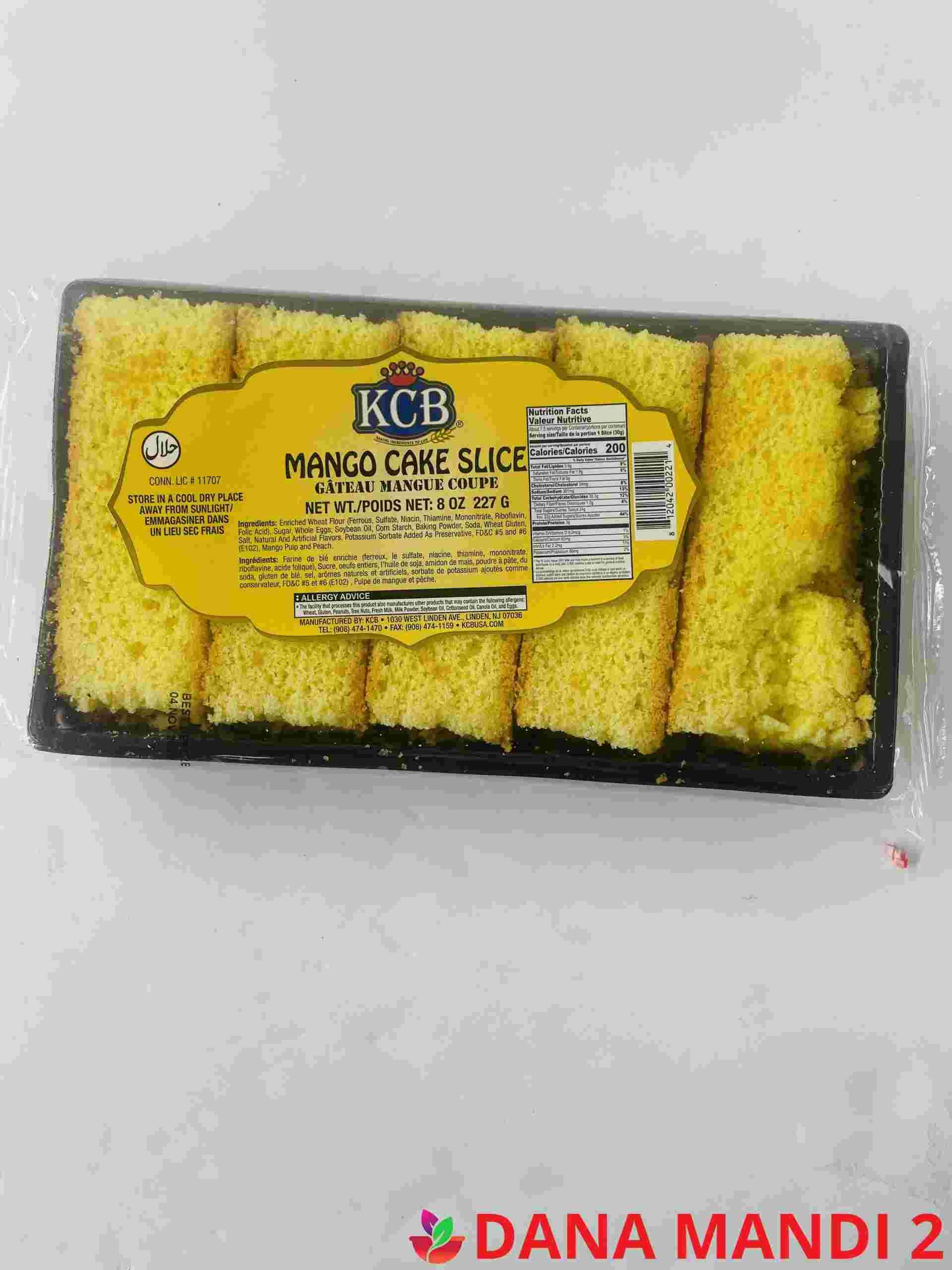 Kcb Mango Cake Slice