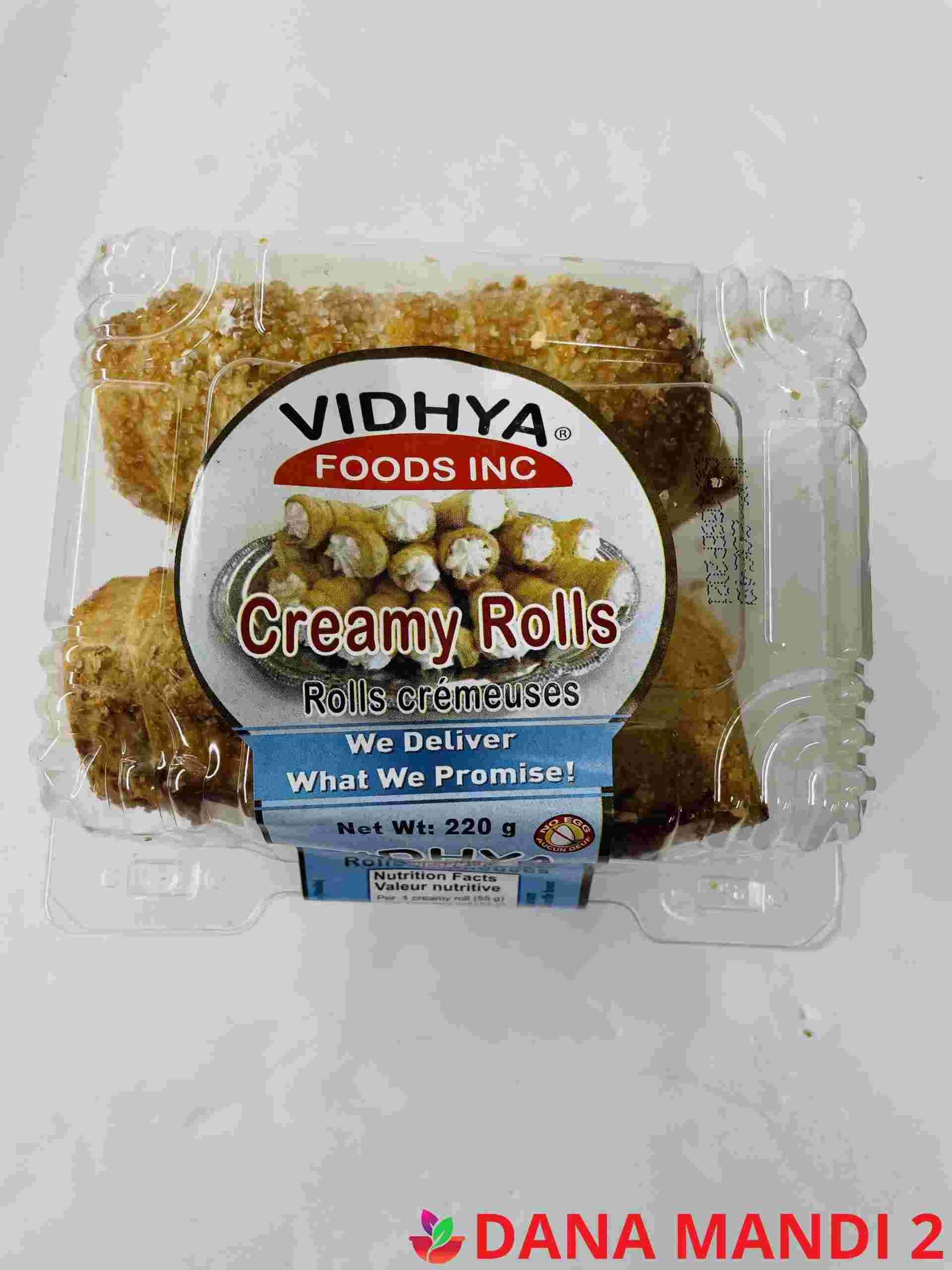 VIDHYA Creamy Rolls