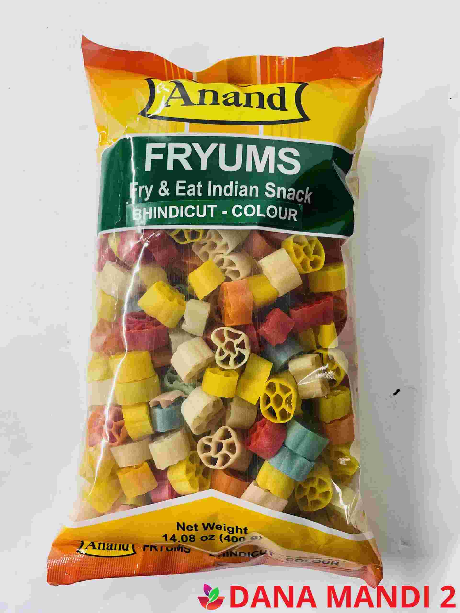 ANAND Fryums (Bhindicut – Colour )