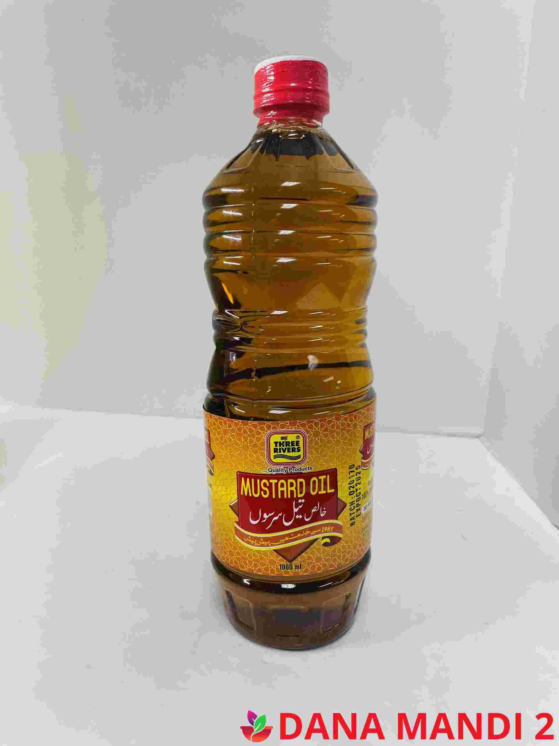 THREE RIVER Mustard Oil