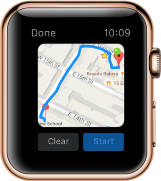 Map Navigation View