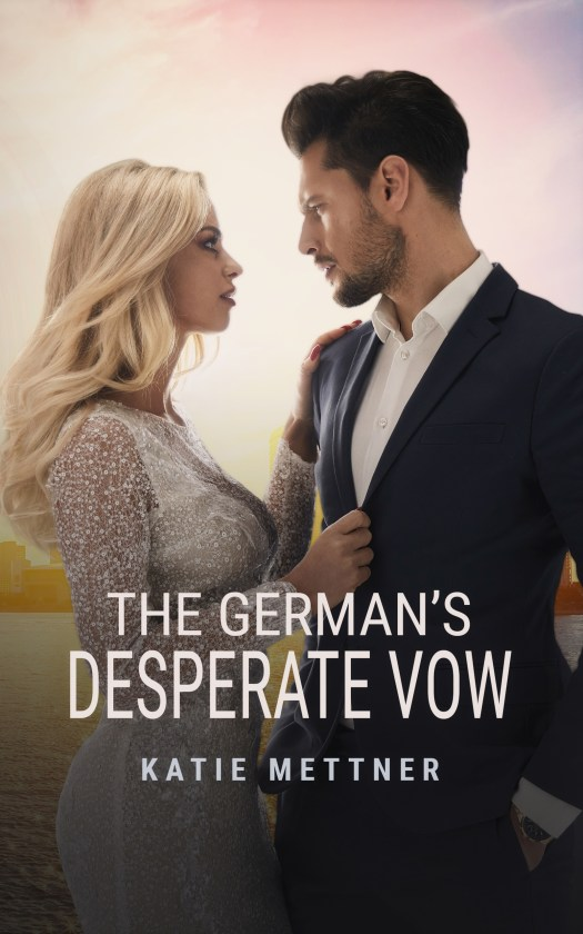 The German's Desperate Vow ebook cover