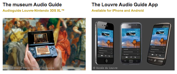 Louvre Audio Guides