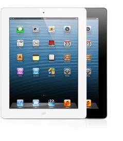 iPads - white and black