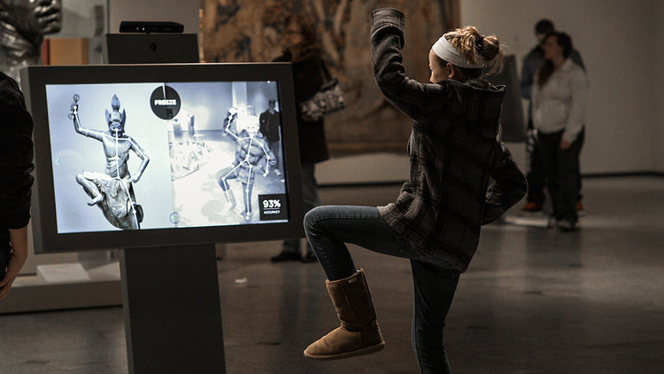 Strike a Pose - CMA. Image credit Idiom Interactive