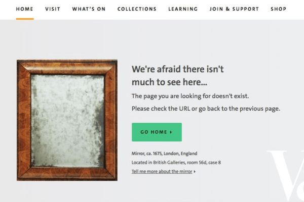 Fun with 404 error pages