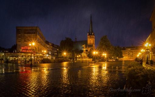 Szczecin in the Rain