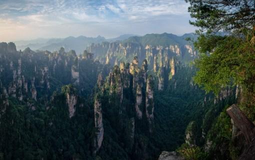 Zhangjiajie at Dawn