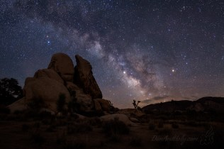 The Milky Way Over Joshua Tree – Part 1