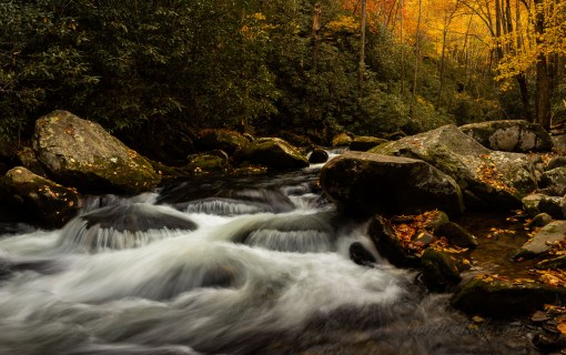 Thunderhead Prong in Fall Colors