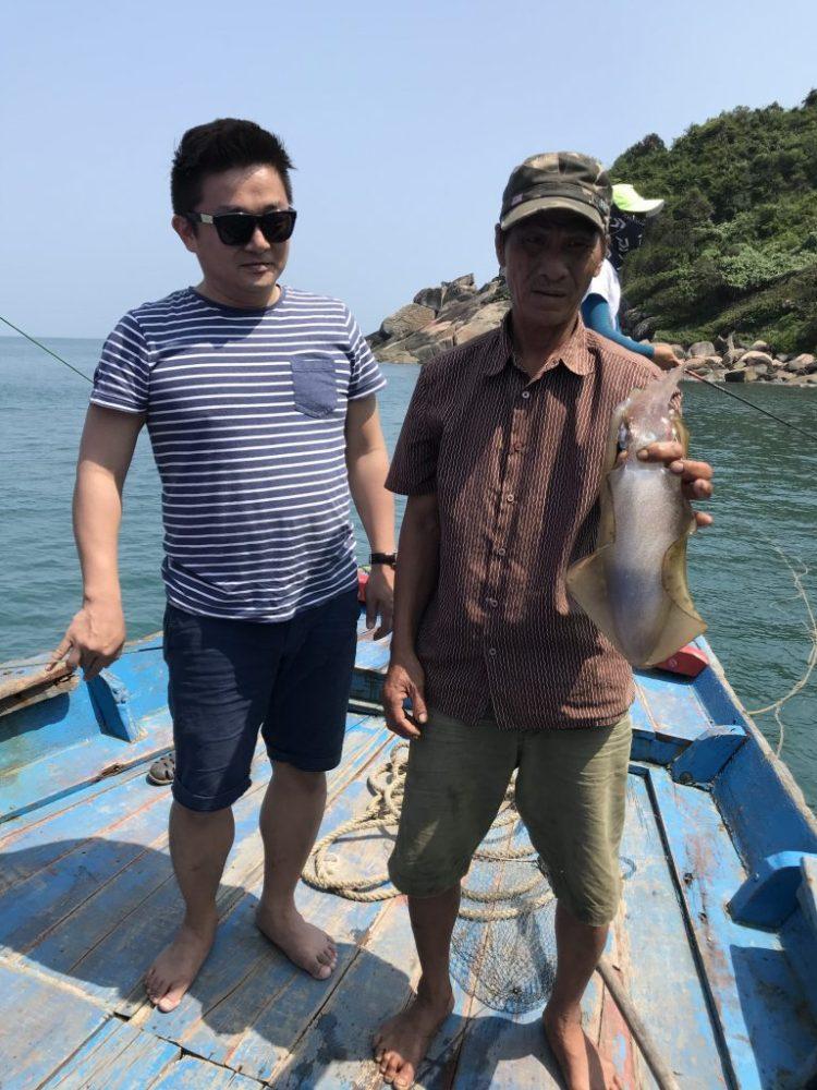 da nang fishing tour, da nang backpacker tourist