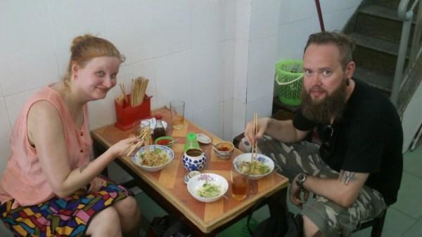 custom food tour in da nang
