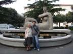 Praça da Liberdade com a Nonna Isaura Barbieri