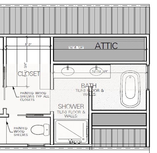Bathroom Blueprint, townhome bathroom, bathroom idea, dana morris