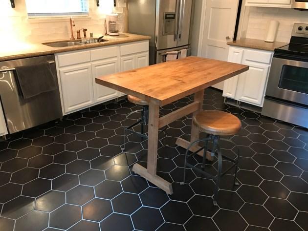 Finished Kitchen Floor Dana David
