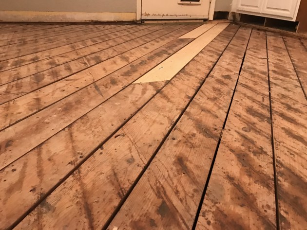 floor board repair, diy flooring, termite damage