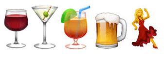 booze emoji
