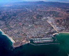 dana point california aerial photo