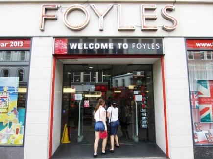 Buchhandlungen London Foyles 1