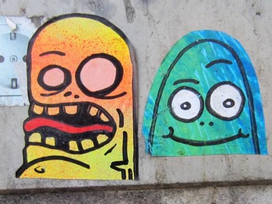 Street Art Mainz Monster 2