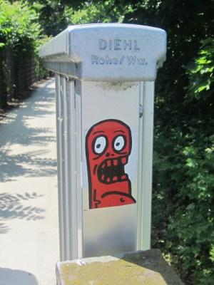 Street Art Mainz Monster 4