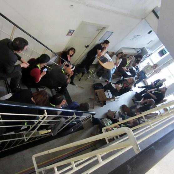 Treppen-Session