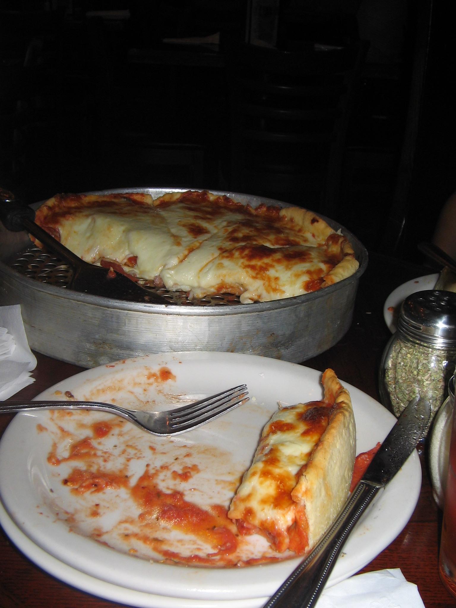 Chicago Deep Dish Pizza!!!!