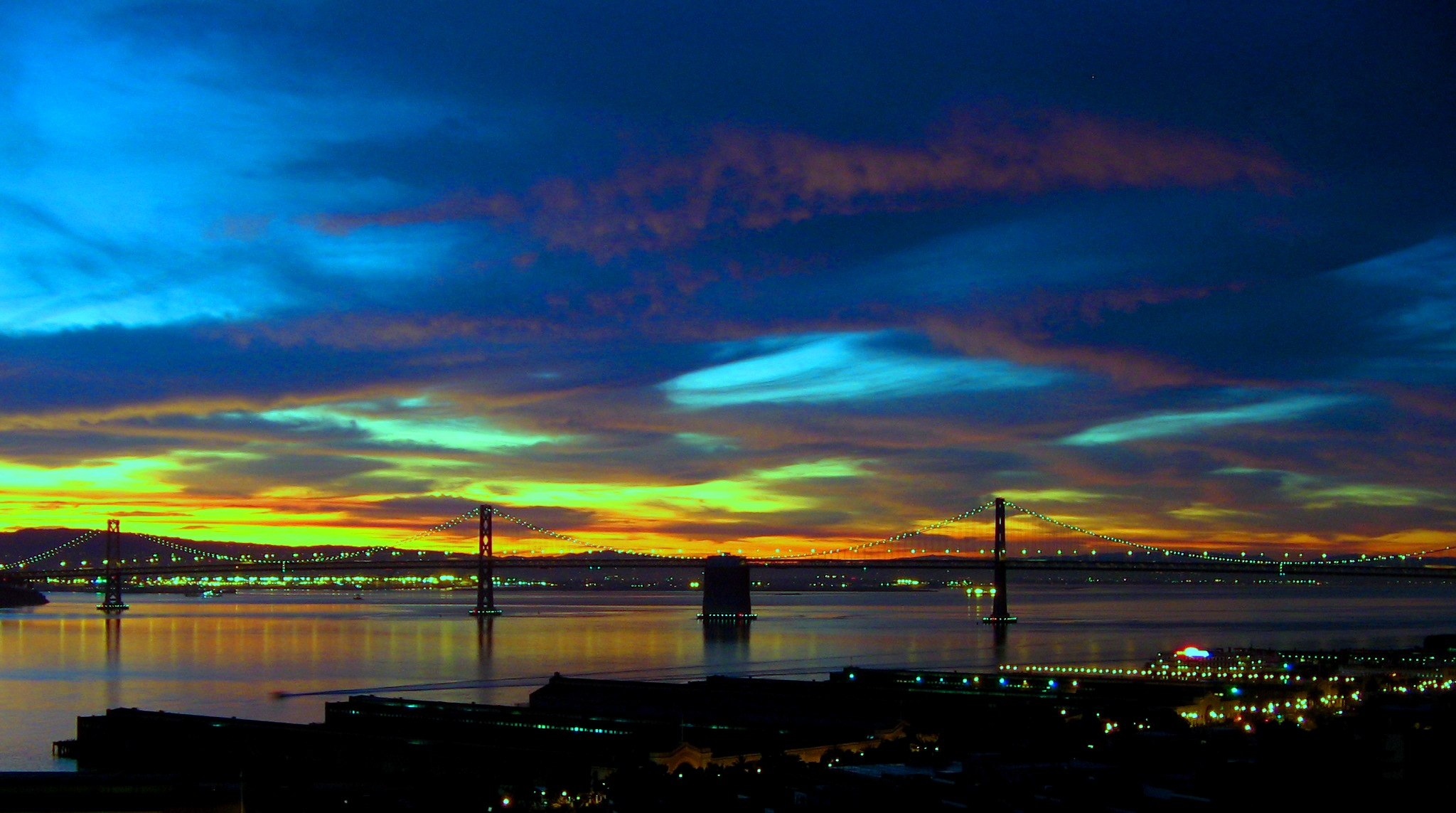 Late Summer Telegraph Hill in San Francisco
