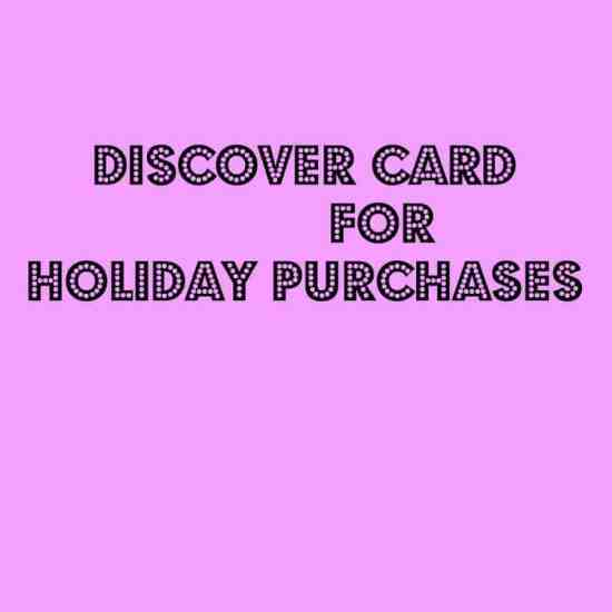 discover for purchases, discover, credit card, dana vento, spending, earning, holiday shopping, Discover How To Spend and Earn
