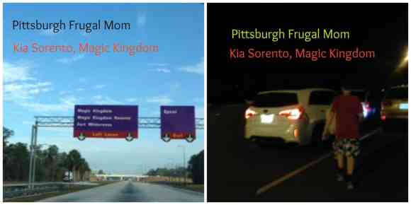 kia, drive kia, kia sorento, pittsburgh frugal mom, orlando, disney, disneyworld, magic kingdom, mickey, minnie, pittsburgh frugal mom